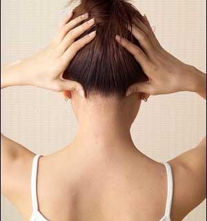 لیزر موهای گردن